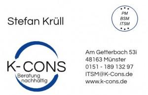 Visitenkarte K-Cons